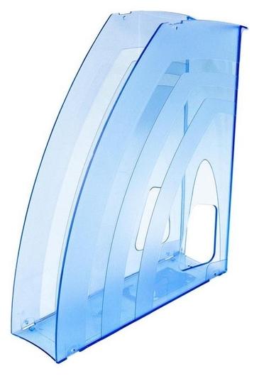 Вертикальный накопитель Attache 70мм Office прозрачный голубой  Attache