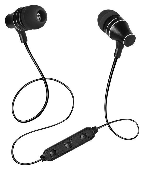 Наушники Sven E-225b черный (Bluetooth)  Sven