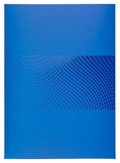 Папка уголок с клапаном Attache Digital, синий  Attache
