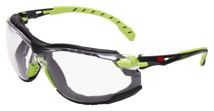 Очки защитные открытые 3М Solus 1000 прозрачные (Арт произв S1201sgafkt-eu)  3M