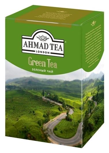Чай Ahmad Green Tea,лист,зелен.200г.картон/кор 1310-1  Ahmad Tea