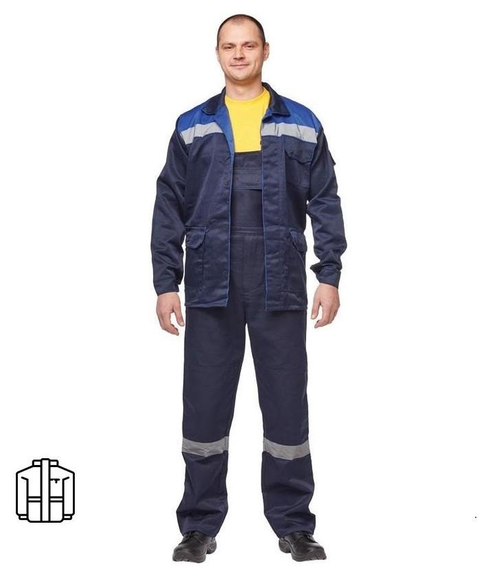 Спец.одежда летняя куртка муж. л03-ку синий. (Р.44-46) 194-200  NNB