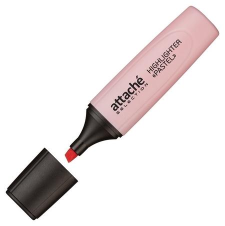 Маркер выделитель текста Attache Selection Pastel 1-5 мм розовый  Attache