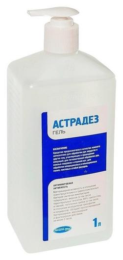 Антисептик кожный астрадез-гель 1,0 л  NNB