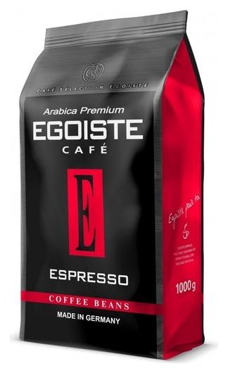 Кофе в зернах Egoiste Espresso, 1кг  Egoiste