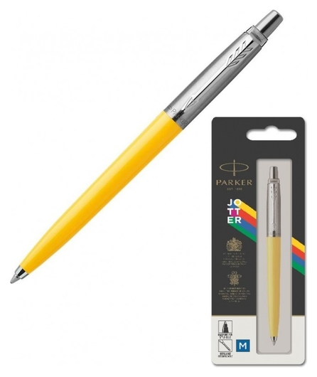 Ручка шариковая Parker Jotter Originals Yellow син.стерж. блистер 2076056  Parker