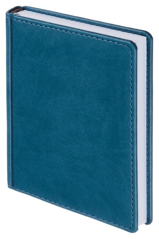 Ежедневник недатированный бирюзовый,а6,110х155мм,176л,attache сиам Attache