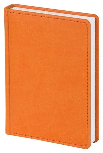 Ежедневник недатированный оранжевый,а6,110х155мм,176л,attache сиам  Attache