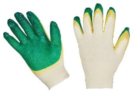 Перчатки защитные трикотажные с двойной латексной заливкой 13 класс NNB