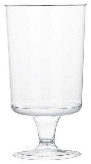 Бокал одноразовый для вина 170 мл., прозрачный, ПС, 6шт./уп. россия  Комус