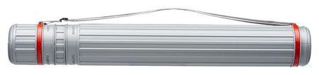 Тубус D90мм, L630-1100мм серый на ремне  №1 School