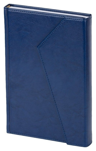 Ежедневник недатированный синий,а5,143х210мм,180л,attache Magnet  Attache