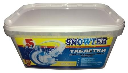 Таблетки для посудомоечных машин Snowter 365 шт/уп Snowter