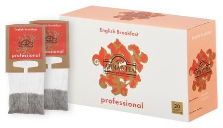 Чай Ahmad Tea Professional английский завтрак, черный, 20пакх5г  Ahmad Tea
