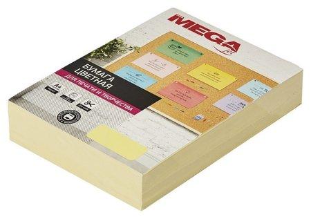 Бумага цветная Promega Jet (А4,80г,желтая пастель) пачка 500л  ProMEGA