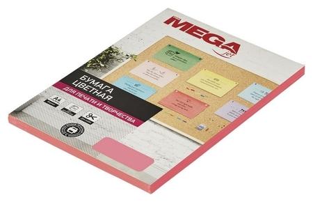 Бумага цветная Promega Jet (А4,75г,розовый неон) пачка 100л  ProMEGA