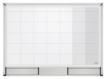 Доска магнитно-маркерная 2х3 Starboard 60х90 планер месяц,керамич.,tps001n  2x3