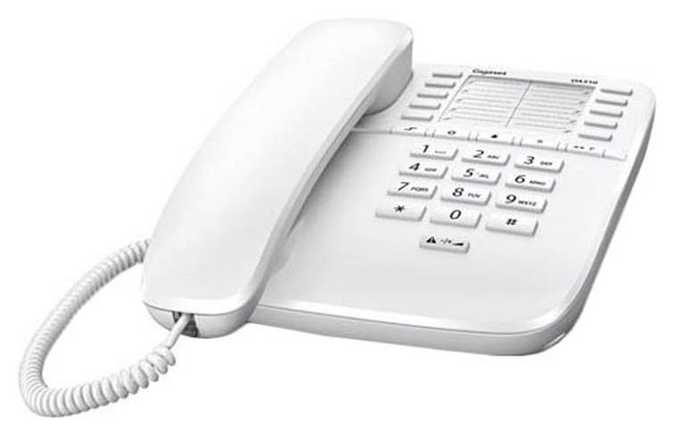 Телефон проводной Gigaset Da510 белый  Gigaset