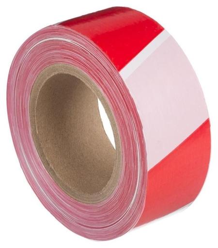 Лента оградительная красно-белая 50мм х250м  NNB