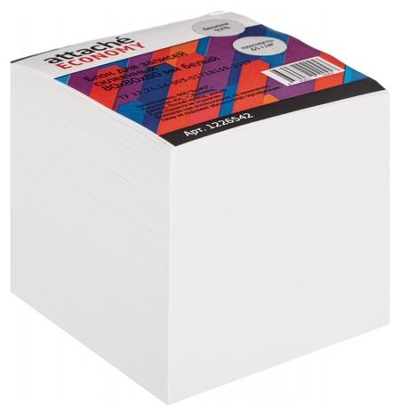 Блок для записей Attache Economy проклеенный 8х8х8, белый, 65 г, 92  Attache