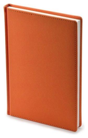 Ежедневник недатированный а5+, 136л, Velvet оранжевый 3-115/06  Альт