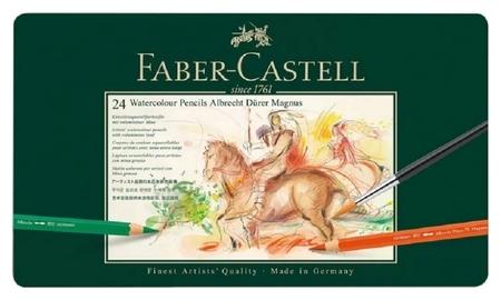 Карандаши акварельные Faber-castell Albrecht Durer Magnus, 24цв, 116924  Faber-castell