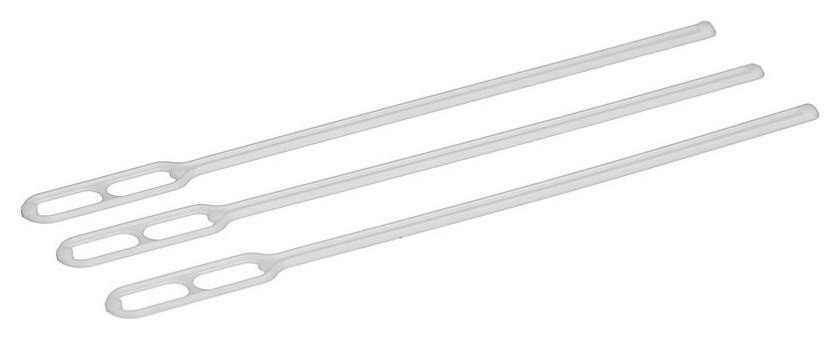 Размешиватель одноразовый 120мм, белый, комус ПС 500шт/уп  Комус