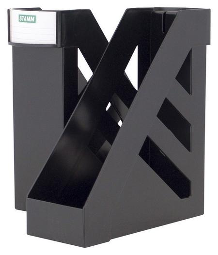 Вертикальный накопитель стамм 100мм черный 2шт/упк ?лт- 104 Стамм