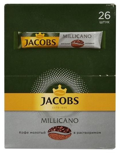 Кофе Jacobs Millicano растворимый 26штx1,8г  Jacobs