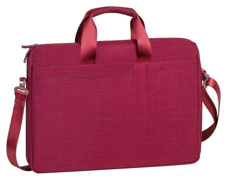 Сумка для ноутбука 15.6, Rivacase Biscayne, красная, 8335 Red  RIVACASE
