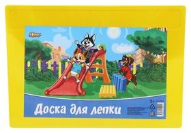 Доска для лепки №1school шустрики, А4, 297х210мм  №1 School