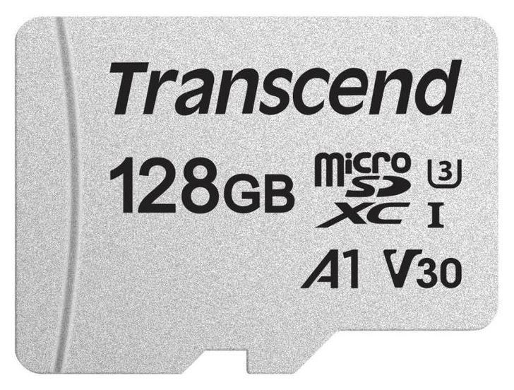Карта памяти Transcend 300s Microsdxc 128gb Uhs-i A1, Ts128gusd300s  Transcend