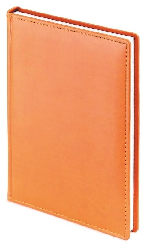 Ежедневник датированный 2021, а5+, 168л, Velvet оранжевый 3-123/06  Альт