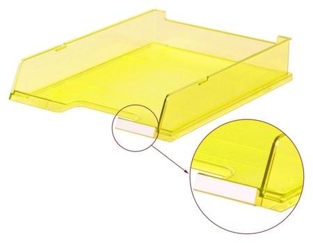 Лоток для бумаг HAN с инд.окном прозрачно-желтый арт.ha1020/25, C4  Han