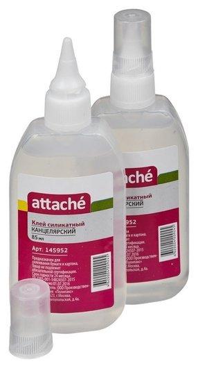 Клей канцелярский синтетический 85мл Attache  Attache