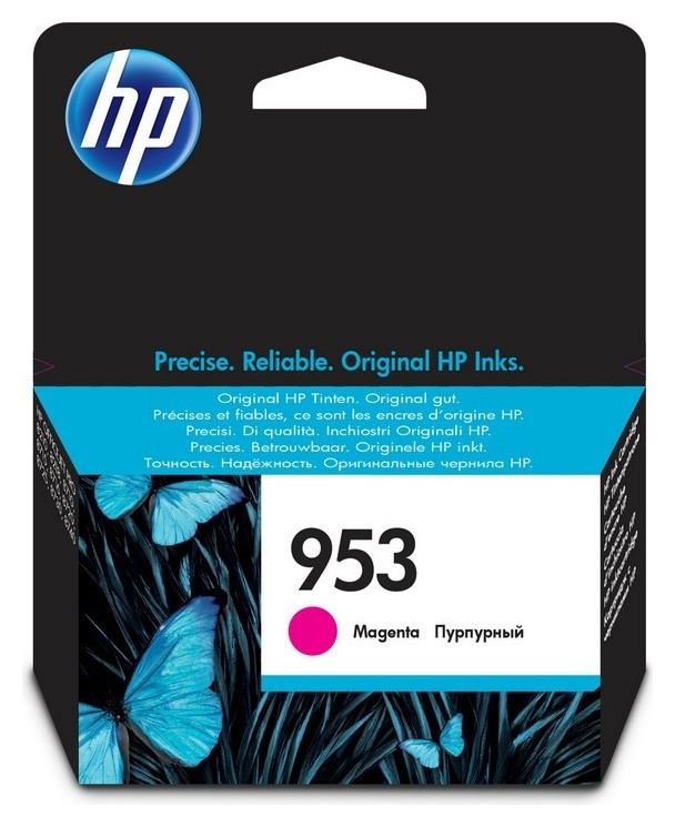 Картридж струйный HP 953 F6u13ae пурп. для OJ Pro 8210/8720 Hp