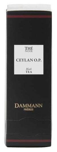 Чай Dammann Ceylon O.p. черный, 24 пак 4973  Dammann