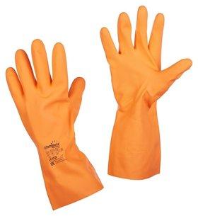 Перчатки защитные латекс Manipula цетра (L-f-04) р.8-8,5 (М)  Manipula