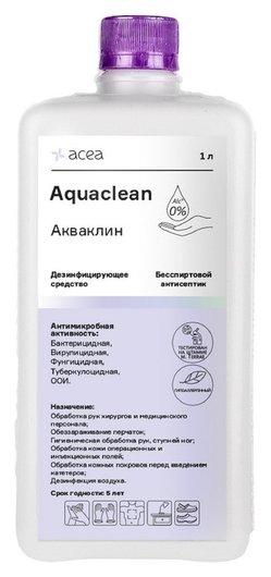 Антисептик кожный акваклин, бесспиртовой 1 л  Acea