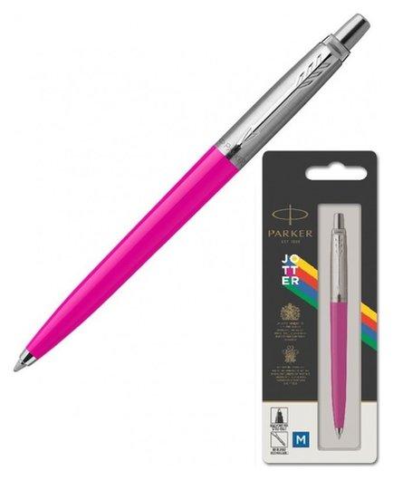 Ручка шариковая Parker Jotter Originals Magenta син.стерж. блистер 2075996  Parker