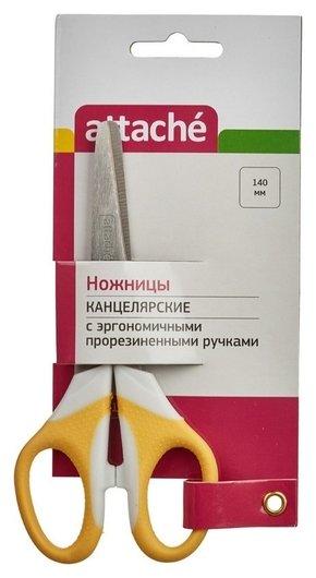 Ножницы детские Attache Ergo&soft в ассар 14 см  Attache