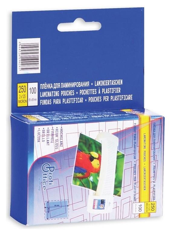 Пленка для ламинирования Profioffice 65х95, 125мкм 100шт/уп. ProfiOffice