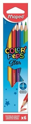 Карандаши цветные Maped Color?peps 6 цв. Maped