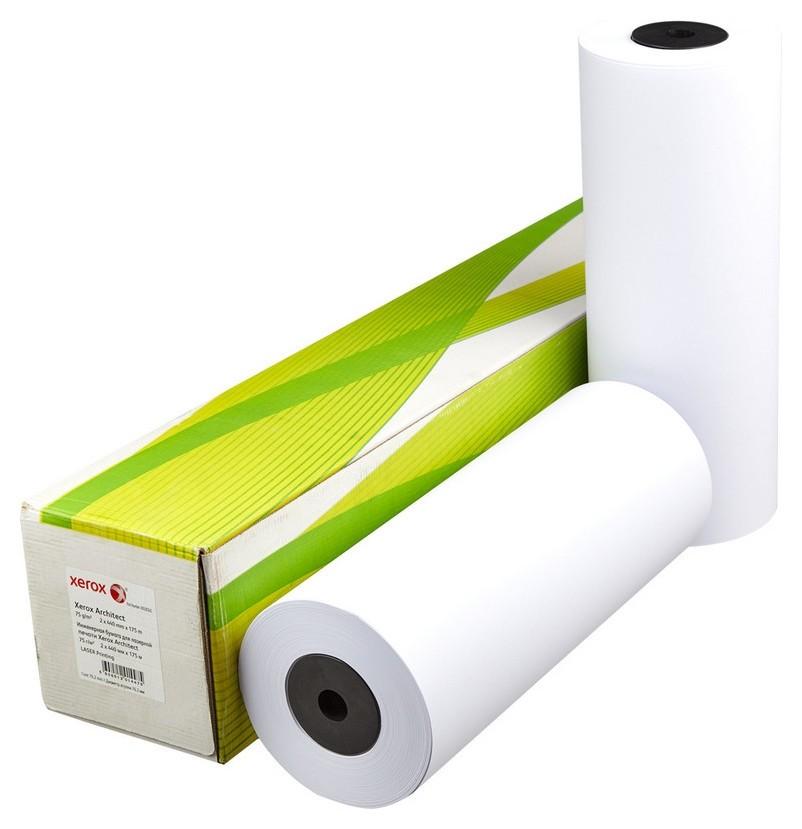 Бумага широкоформатная Xerox XES 75г 440ммх175м 76мм  Xerox
