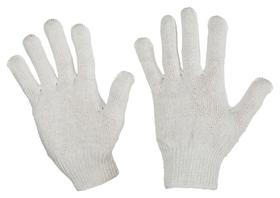 Перчатки защитные трикотажные без ПВХ 4 нити 30г 10класс 10пар/уп
