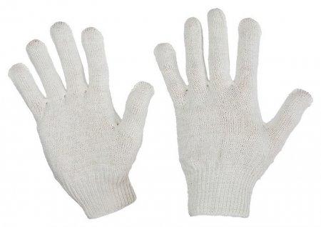 Перчатки защитные трикотажные без ПВХ 4 нити 30г 10класс 10пар/уп  NNB