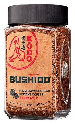 Кофе Bushido Kodo растворимый,95г стекло  Bushido