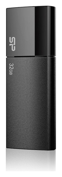 Флеш-память Silicon Power Blaze B05, 32gb, USB 3.2 G1, ч, Sp032gbuf3b05v1k  Silicon power