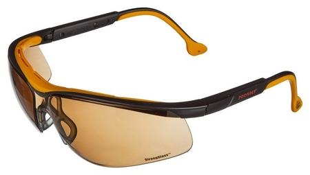 Очки защитные открытые росомз О50 Monaco коричневые (Артикул произв 15044)  Росомз