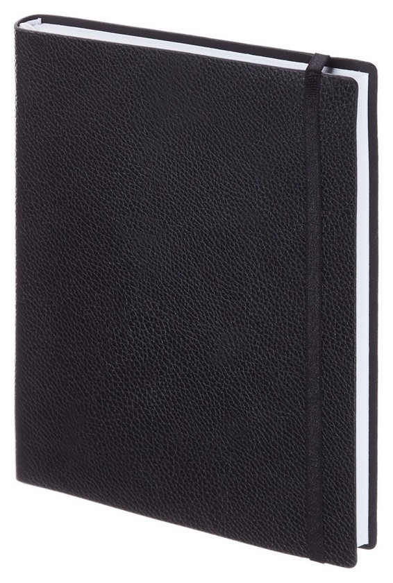 Ежедневник недатированный черный, А5, 160л., Prime Az683/black InFolio